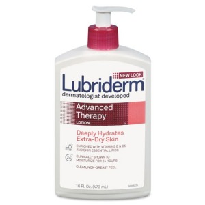 Lubriderm Advanced Therapy Moisturizing Hand & Body Lotion Enriched with essential moisturizing vitamins, nutrients  and antioxidants to achieve healthy skin.